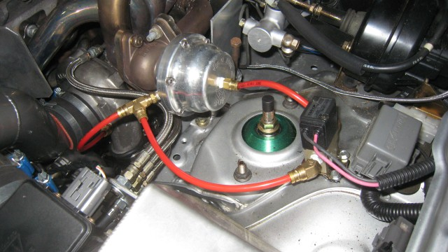 Tial wastegate vacuum line hook up